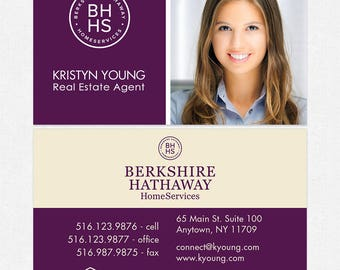 Berkshire hathaway etsy berkshire hathaway real estate deluxe business cards thick color both sides free ups ground shipping colourmoves