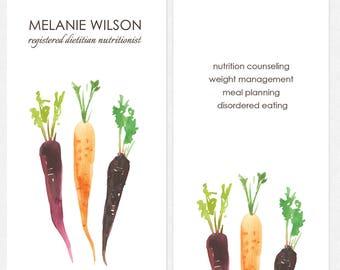 Cartes De Visite Dietetiste Nutritionniste