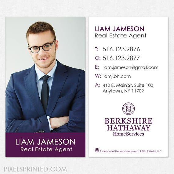 image 0 - Berkshire Hathaway Business Cards