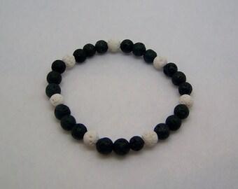Lava Rock Stone Bracelet, Diffuser Bracelet, Lava Bead Bracelet, Lava Rock Bracelet, Essential Oil Diffuser, Jewelry Bracelet, Aromatherapy