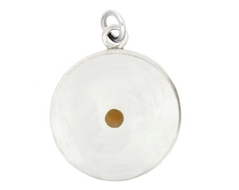 Sterling Silver Amulet of Faith Mustard Seed Charm