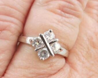 Vintage Wedding Bridal CZ Fashion Ring