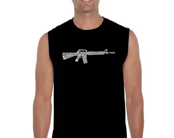 Men's Sleeveless Shirt - RIFLEMANS CREED