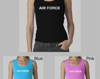 Women's Beater Tank Top - Created out of the Lyrics To The Air Force Song