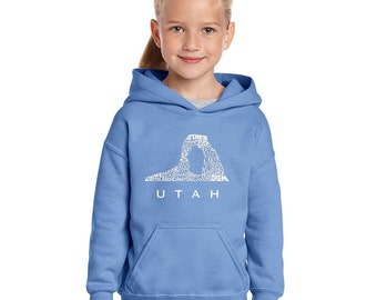 Girl's Hooded Sweatshirt - UTAH