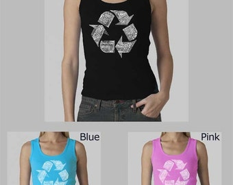 Women's Beater Tank Top - Created using 86 Recyclable Products
