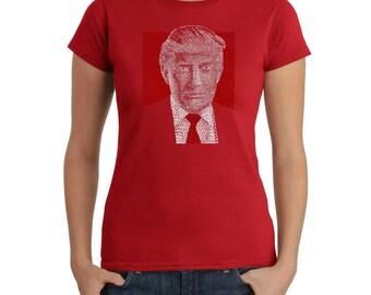 Women's T-shirt - Trump 2016 - Make America Great Again