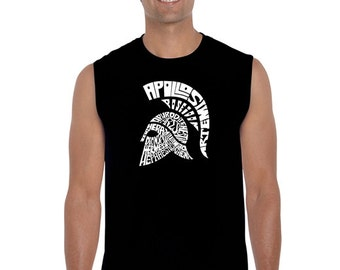 Men's Sleeveless Shirt - SPARTAN