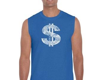 Men's Sleeveless Shirt - Dollar Sign