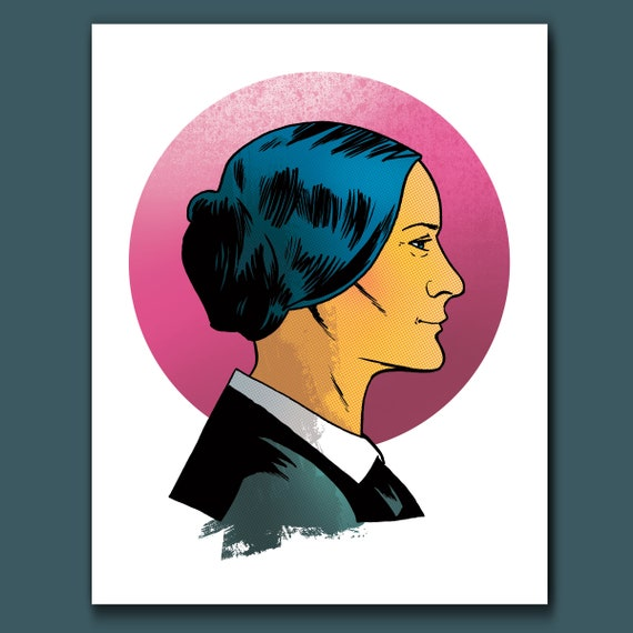 SUSAN B ANTHONY American Pop Art Print by Rob Ozborne