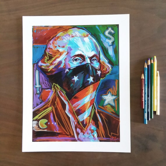 G-DUB Pac-Money  - Original Art - Pencil Over Print - 11x14 by Rob Ozborne