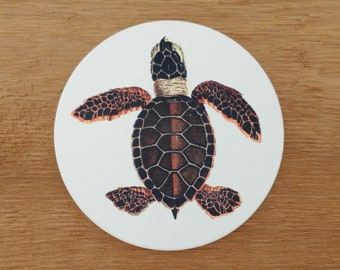 Sea Turtle Sandstone Coaster