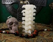 Small Spine White Beeswax Candle Choice Of Color