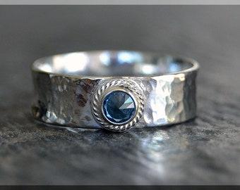 Gemstone Stacking Rings