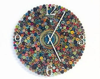 Quiling Wall Clock
