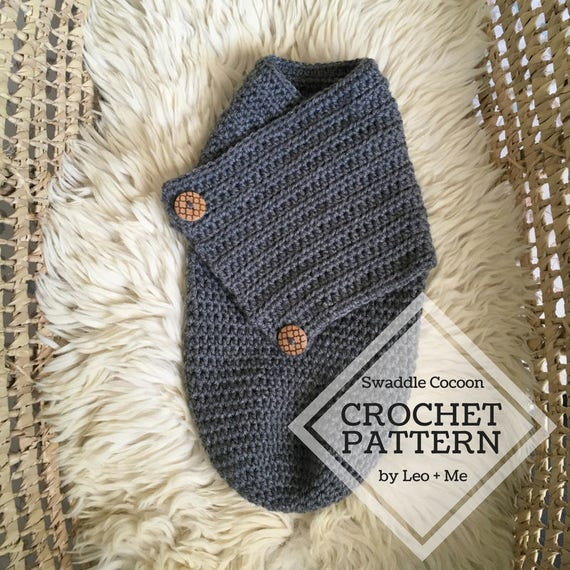 Swaddle Cocoon Crochet Pattern Crochet Baby Pattern Etsy