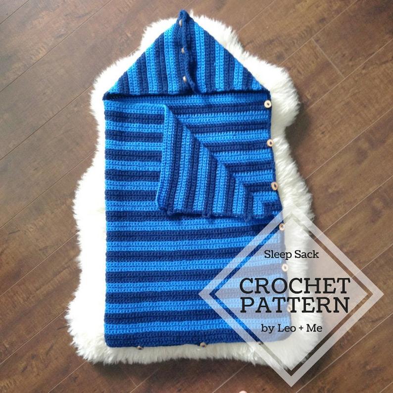 Crochet Baby Sleep Sack Pattern Baby Bunting Bag Easy Etsy