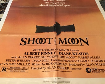 shoot the moon movie poster 27 by 40