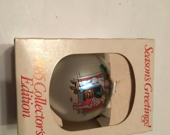1985 campbell's soup christmas ornament