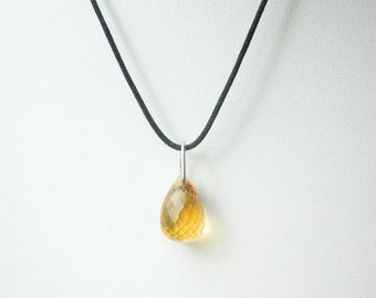 Natural citrine jewelry, Citrine necklace, citrine pendant, Healing crystals and stones jewelry, gemstone necklace,natural gemstone necklace