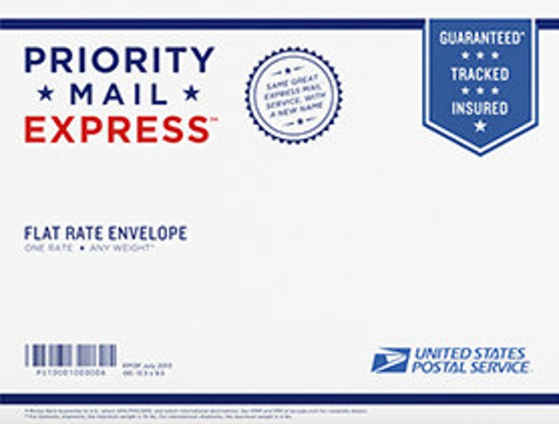Express Mail 1 Day Delivery with in USA