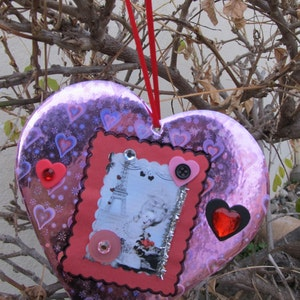 Victorian Romance-From Paris With Love Valentine/'s Day Hanging Greeting Card