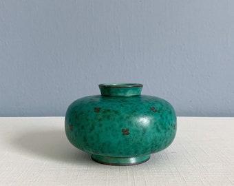 Vintage Argenta Vase by Wilhelm Kage for Gustavsberg of Sweden