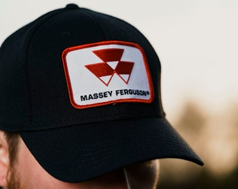 67466fcc Massey Ferguson Tractor Logo Hat, fitted