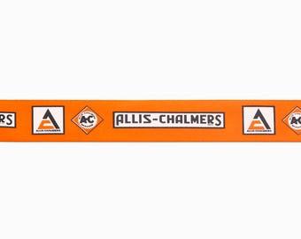 Allis Chalmers Logo Ribbon, five yard or ten yard lengths