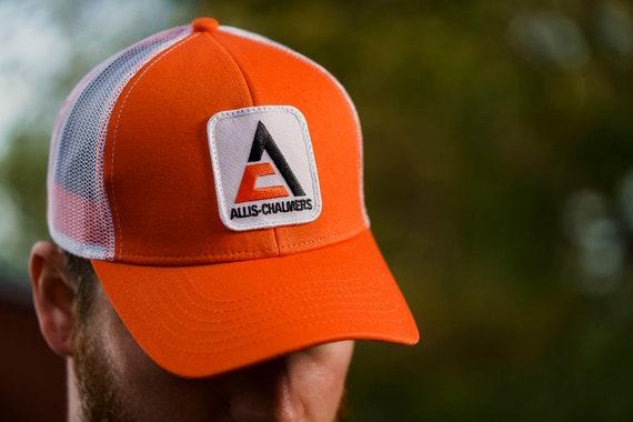 Allis Chalmers Hat with Vintage AC Logo Black Mesh