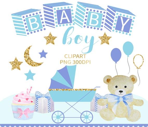 Baby Boy Clipart Baby Clip Art Baby Clipart Baby Shower Etsy