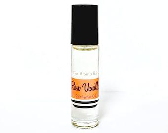Rose Vanilla Perfume Oil Rollerball