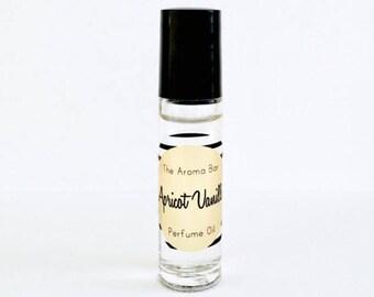 Apricot Vanilla Perfume Oil Rollerball