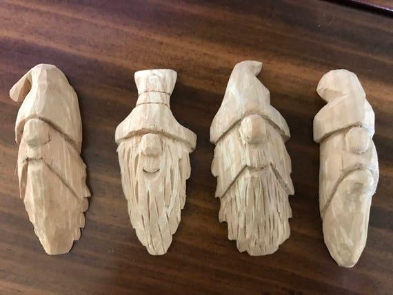 Wood Carving Blocks With Template Cut 4 Per Bag