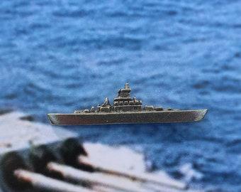 dc6569b0 Battleship Lapel Pin - CC436- Fleet, Fleet of Ships, Navy, Warship, Naval  and Military Pins