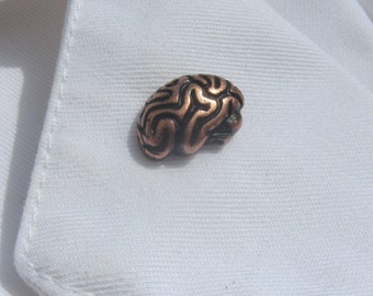 Good Copper Brain Lapel Pin  CC157C  Neurology And Medical Pins For Doctors And  Nurses  Hospital And Anatomy Pins