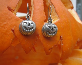 Jack O' Lantern Earrings- LT472