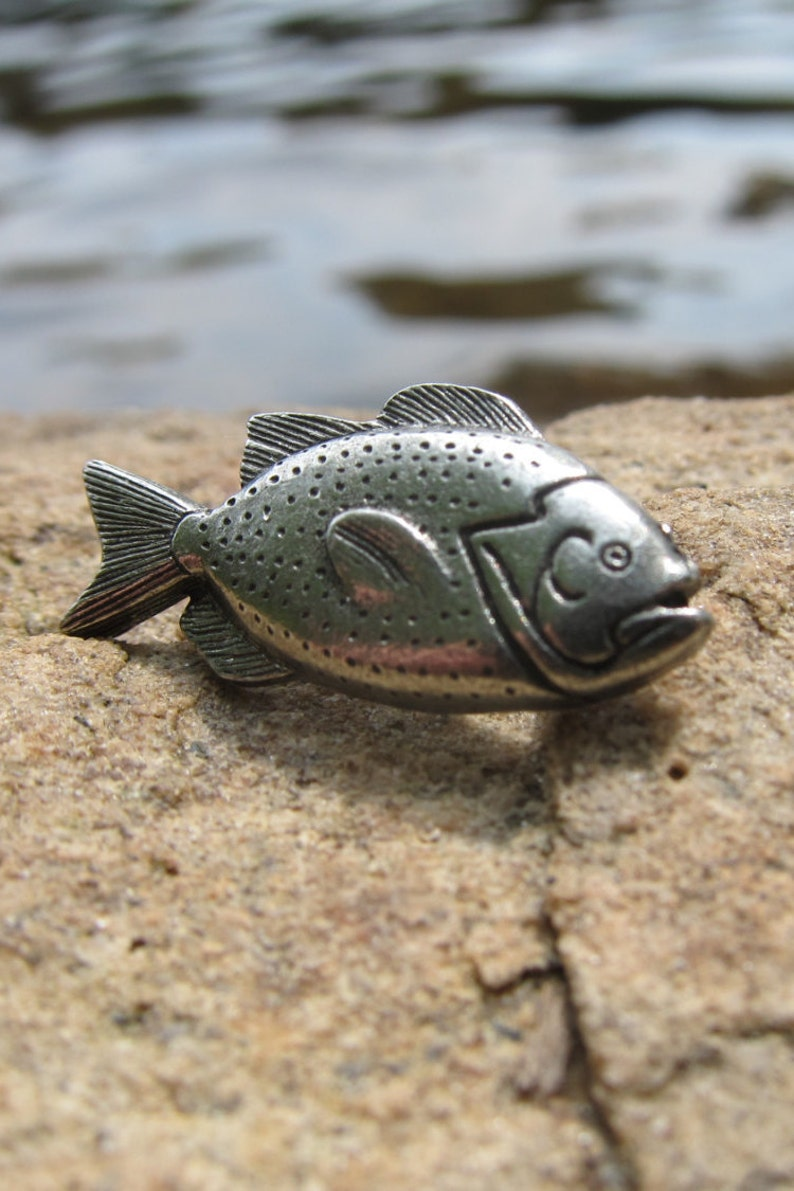 Perch Lapel Pin - CC127- Fish and Fishing Lapel Pins