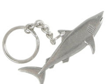 Shark Keychain- Shark Week, Marine Biology, Aquarium, and Ocean Animal Accessories and Gifts