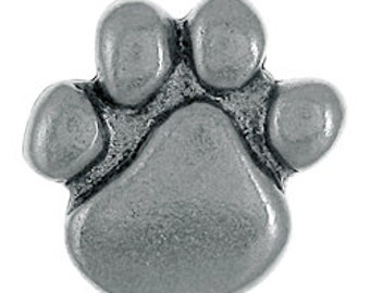Paw Print Lapel Pin - CC269- Pins for Pet Lovers- Dog Paw Pin- Cat Paw Pin