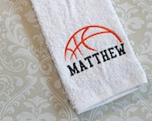 Personalized Basketball Towel #2  BST02 // Basketball Gifts // Team Gift //