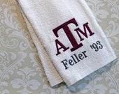 Personalized Texas A&M Spirit Towel #1 ST020 // Aggies // Gigem