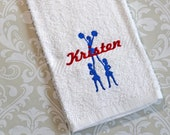 Personalized Cheer Towel #2 ST004 // Cheer Gift // Cheer Coach Gift // Cheerleader Gift // Dance Gift // Dance Team