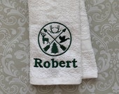 Personalized Hunting Towel   STWL01  // Hunting Gift // Hunting Gifts for Men // Hunter