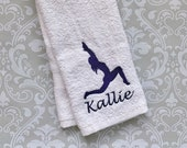 Personalized Yoga Sweat Towel  STY01  // Yoga Gift // Sweat Towel