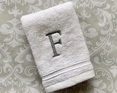 Monogrammed Wash Cloth Century WC002CE // Graduation Gift // Monogrammed Gift // Wedding Gift