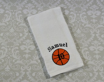 Personalized Basketball Bath Towel?Sheet BT002