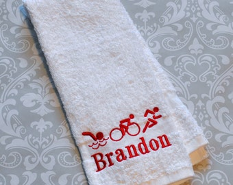 Personalized Triathlon Sport Towel ST0028