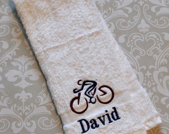 Personalized Cycling Sport Towel ST0122