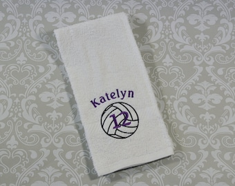 Personalized Volleyball Sport Towel ST0019